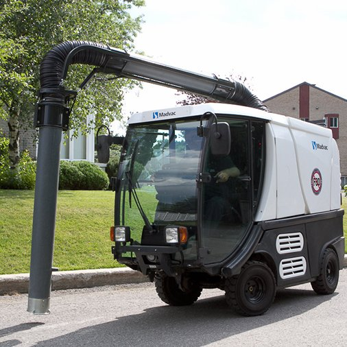 Madvac® LR100 - Vacuum Litter Collector with Robotic Arm
